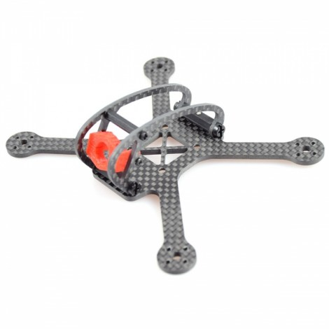 Full Speed Leader-120 120mm 3K Carbon Fiber Frame for 2-3s Lipo 11 Series of Motor 20*20mm FC Brushless Mini FPV Racing Drone