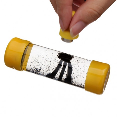Ferrofluid Magnetic Bottle Decompression Toy Creative Gift Yellow