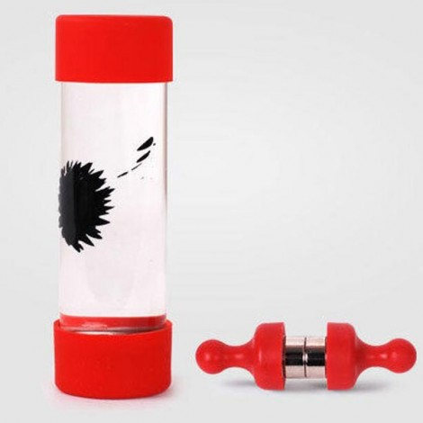 Ferrofluid Magnetic Bottle Decompression Toy Creative Gift Red