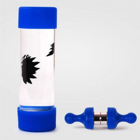 Ferrofluid Magnetic Bottle Decompression Toy Creative Gift Blue