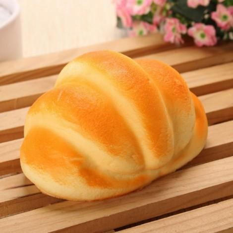 10CM Simulation Shells Bread Slow Rising Squishy Fun Toys Decoration Orange