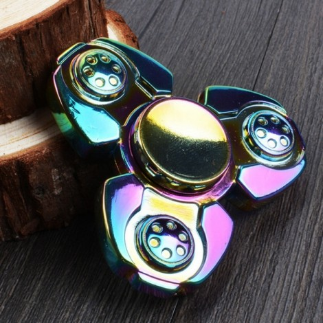 Colorful EDC Hand Spinner Finger Spinner Fidget Gadget Focus Reduce Stress Gadget CKF Style