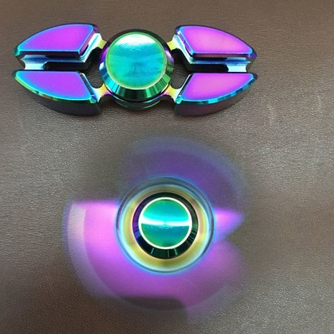 Colorful EDC Hand Spinner Finger Spinner Fidget Gadget Focus Reduce Stress Gadget Crab Lobes Style