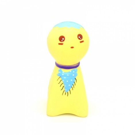 Kiibru Squishy Sunny Doll 14cm Slow Rising Original Packaging Collection Gift Decor Soft Squeeze Toy - Yellow