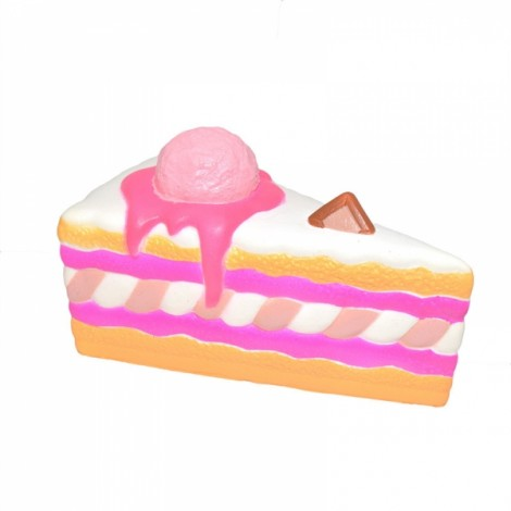 Kiibru Squishy Ice Cream Cake Slice 15.5cm Slow Rising Original Packaging Collection Gift Toy