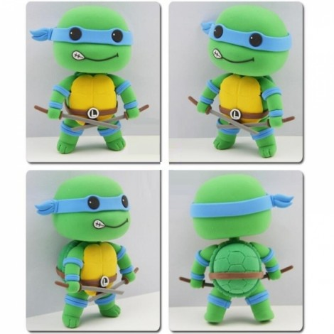 Teenage Mutant Ninja Turtles Leonardo Model Ultralight 3D Colored Modeling Clay DIY Intelligence Toy