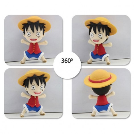 Monkey D Luffy Model Ultralight 3D Colored Modeling Clay DIY Intelligence Toy
