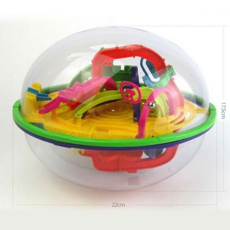 299-Level 3D Magic Maze Ball Intellect Ball Children's Educational Toy Orbit Game