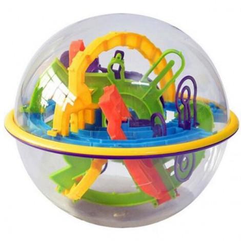 158-Level 3D Magic Maze Ball Intellect Ball Children's Educational Toy Orbit Game