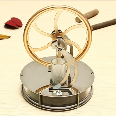 Discovery Toys Low Temperature Stirling Engine Model Educational Toy Gift for Kid