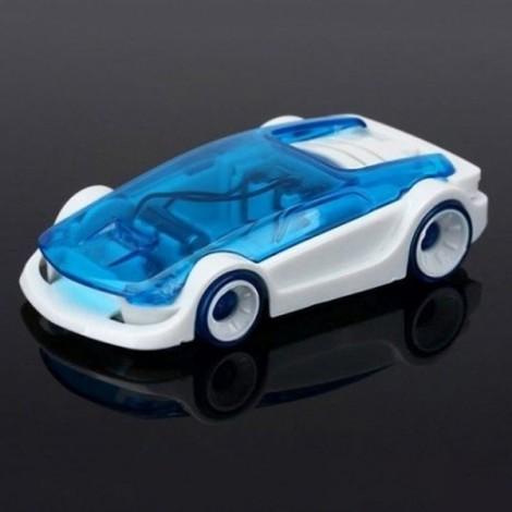 DIY Green Energy Educational Salt Water Fuel Power Car Toy for Kids Blue & Black