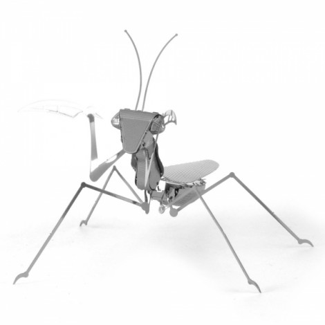 Metal DIY Assembly Model Three-dimensional Jigsaw Puzzle Mantis Insect