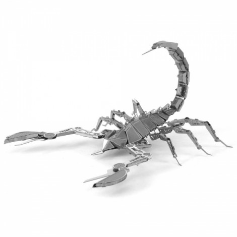 Metal DIY Assembly Model Three-dimensional Jigsaw Puzzle Machine Insect Scorpion