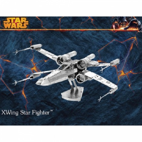 Metal DIY Assembly Model 3D Nano Three-dimensional Jigsaw Puzzle Star Wars X Wing Fighter