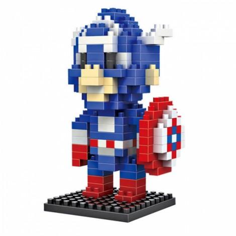 LOZ 190pcs M-9159 Captain America Building Block Educational Toy Colorful