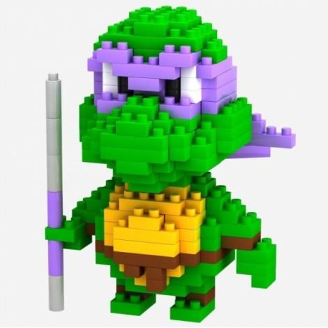 LOZ 200pcs M-9148 Teenage Mutant Ninja Turtles Donatello Style Building Block Educational Assembling Toy