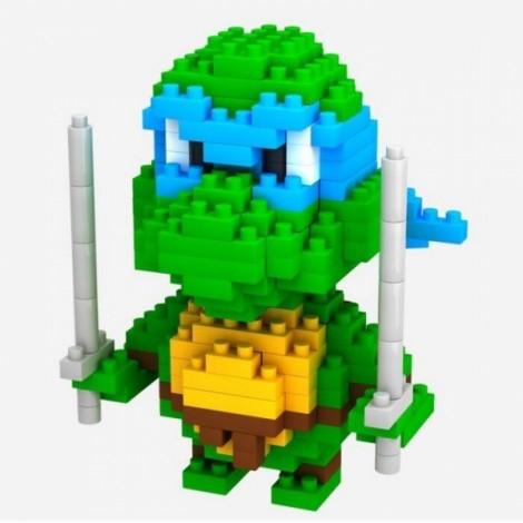 LOZ 210pcs M-9151 Teenage Mutant Ninja Turtles Leonardo Style Building Block Educational Assembling Toy