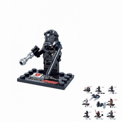 Dargo 867C Star Wars The Force Awakens Mini Figure Assemble Puzzle Toy Intelligent Gift