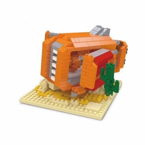 Star Wars Minifigure Building Blocks Diamond Blocks Yoda bb8 R2-D2 Action Figure Miniature Model Brick Block 2408 Colorful