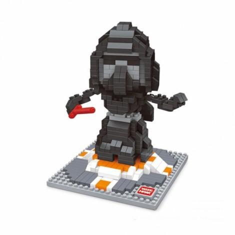 Star Wars Minifigure Building Blocks Diamond Blocks Yoda bb8 R2-D2 Action Figure Miniature Model Brick Block 2404 Colorful