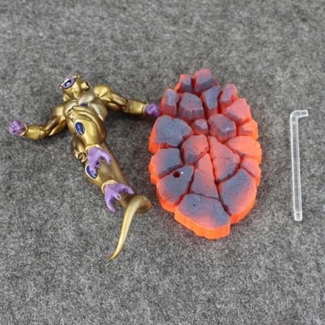 5pcs 15cm PVC Collective Dolls Dragon Ball Z Freezer Action Figure Model Toys Golden & Purple
