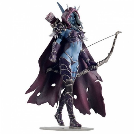 World of Warcraft Character Sylvanas Windrunner Action Figure Online Role-playing Game Model Toy