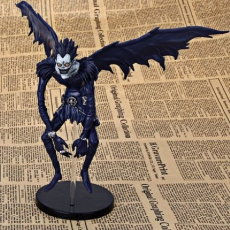 Japanese Anime Death Note Model Toy Horrible Ryuk Action Figure with Standing Holder