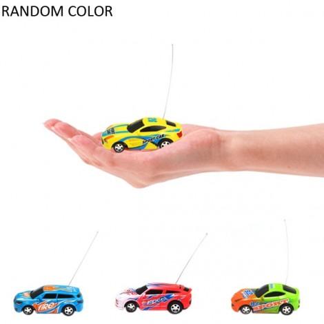 Fengqi Toys Mini 27MHz RC Racer Car Model Toy with Light Random Color
