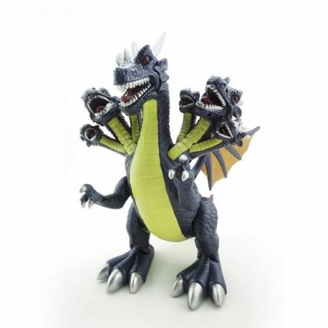 Jurassic World Electric Plastic 7-Head Dinosaur Model Toy Dark Blue