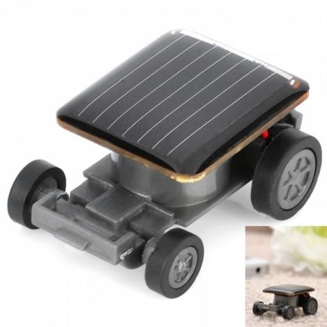 Entertaining Toys Plastic Solar Powered Car Black