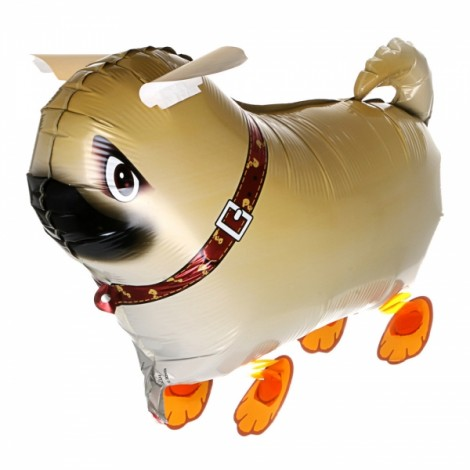 Walking Pet Balloon Kids Children Gifts Party Animal Foil Balloon Pekingese Style