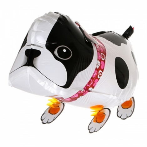 Walking Pet Balloon Kids Children Gifts Party Animal Foil Balloon Bulldog Style