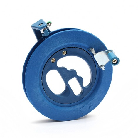 15cm Outdoor Kite Tool Ball Bearing Plastic Round Reel Line Winder Blue