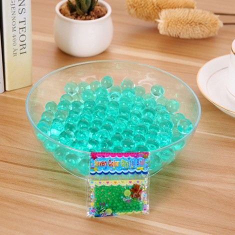 Magic Moisturizing Crystal Mud Soil Water Beads for Flower Planting (About 400pcs/Bag) Dark Green
