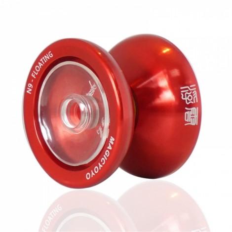 MAGICYOYO N9 Professional Metal Butterfly String Yo-Yo Kids Toy Red