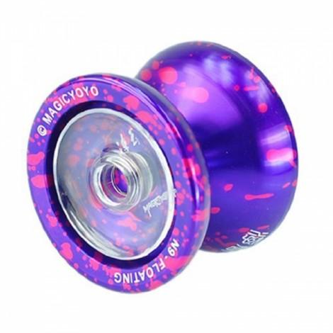 MAGICYOYO N9 Professional Metal Butterfly String Yo-Yo Kids Toy Purple