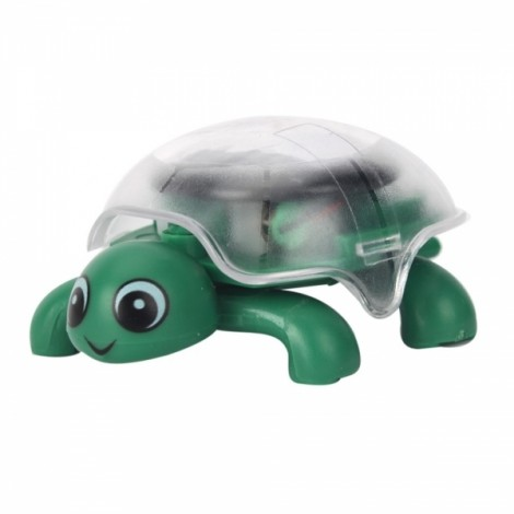 Mini Sunlight Solar Educational Toy Little Tortoise Turtle Gift Green