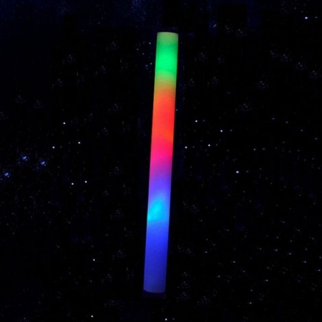 Cool Multicolor LED Foam Wands Flashing Glow Stick Light Colorful