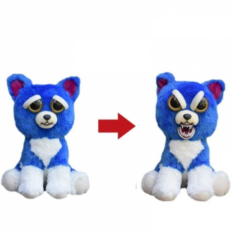 Feisty Pets Plush Toys With Changing Face Stuffed Animal Doll For Kids Christmas Gift - #06
