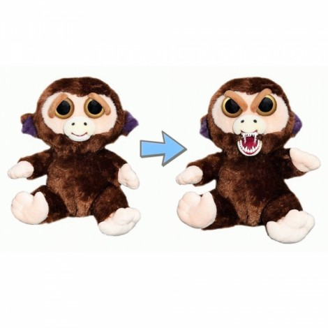 Feisty Pets Plush Toys With Changing Face Stuffed Animal Doll For Kids Christmas Gift - #05
