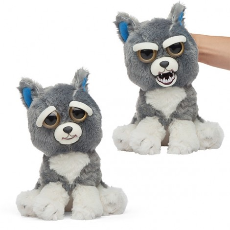 Feisty Pets Plush Toys With Changing Face Stuffed Animal Doll For Kids Christmas Gift - #04