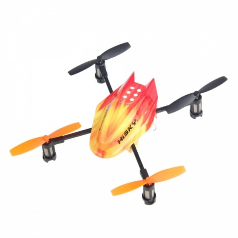 Hisky FF120 4 Axis 2.4GHz Remote Control RC Quadcopter ARF Orange