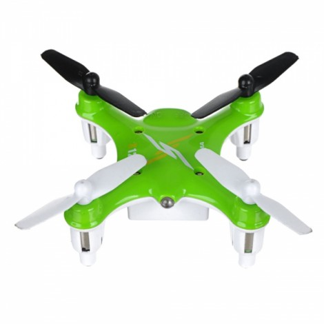 Syma X12 2.4G 4CH 6-Axis Gyro 3D Rolling Throw to Fly Mini RC Quadcopter Green
