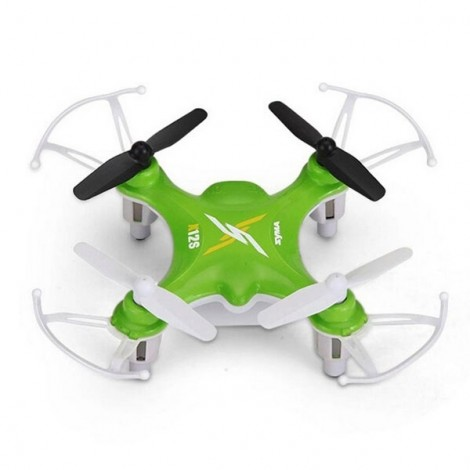 Syma X12S 2.4G 4CH 6-Axis 3D Rolling to Fly Mini RC Quadcopter Light Green