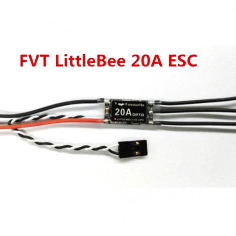 FVT Little Bee 20A Mini Opto ESC (2-4S) for QAV250 FPV Racing Quadcopter 4 Axis Multicopter