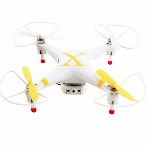 Cheerson CX-30S 2.4G 4CH 6-Axis Gyro 3D Flips 720P FPV Camera RC Quadcopter RTF Yellow