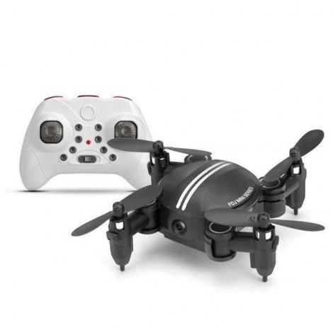 Xgody Z201Y Mini WIFI RC Camera Foldable RC 2.4GHz 6-Axis Gyro 3D Hover Drone FPV Quadcopter Black