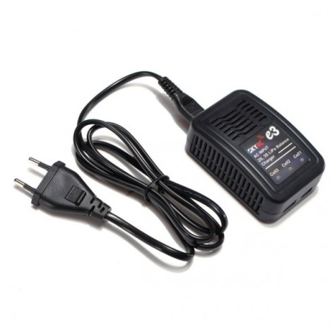 SKYRC E3 2S 3S LiPo AKKU Battery Balance Charger AC 110V-240V