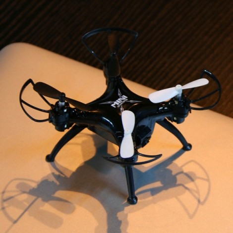 TK106RHW 6-Axis Gyro 4-Channel 2.4GHz RC Mini Quadcopter with 0.3MP WIFI Camera Black
