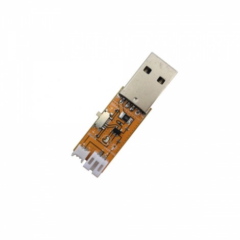 1s 3.7v 200mAh/500mAh Switchable One-way USB Battery Charger for jst-PH1.25 & jst-PH 2.0 Tiny6 Tiny7 DIY FPV Racing Drone